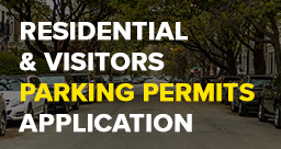 Residential & Visitors Parking Permits Application